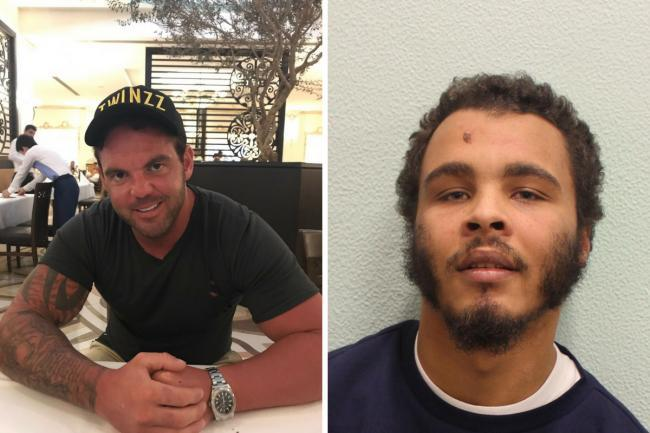 Danny Pearce [left] was stabbed to death by Jordan Bailey-Mascoll [right] to steal his Rolex