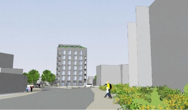 The development at Bell Green was approved desipte concerns from councillors.