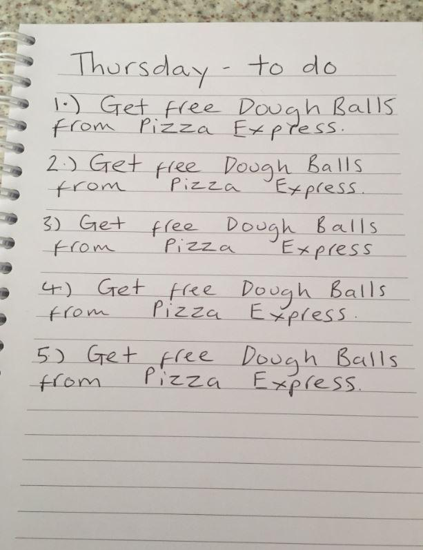 Pizza Express Is Offering Free Dough Balls To All A Level