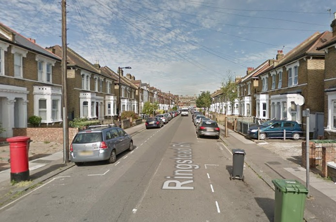 The man was found at an address on Ringstead Road. Photo: Google Maps street view.