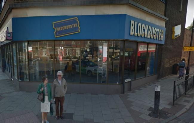 A new library is proposed for the The Blockbuster site in Sidcup