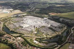 News Shopper: Bluewater has attracted more than a quarter of a billion visitors since it opened