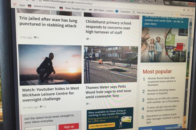 Thousands of people come to News Shopper for their local news every day