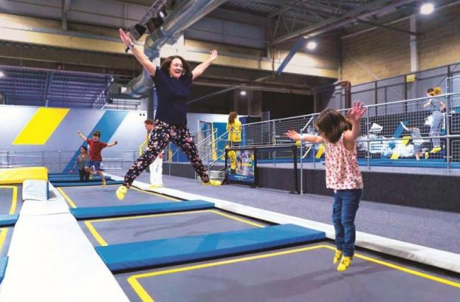 On October 22, Oxygen Freejumping is opening another park and this time it's at the O2 in Greenwich.