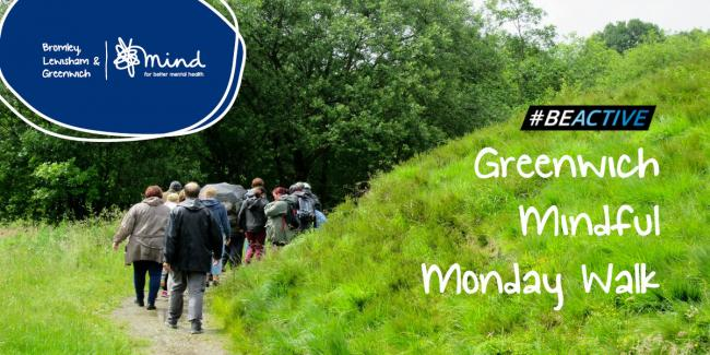 Start your week with a Mindful Monday walk in Greenwich