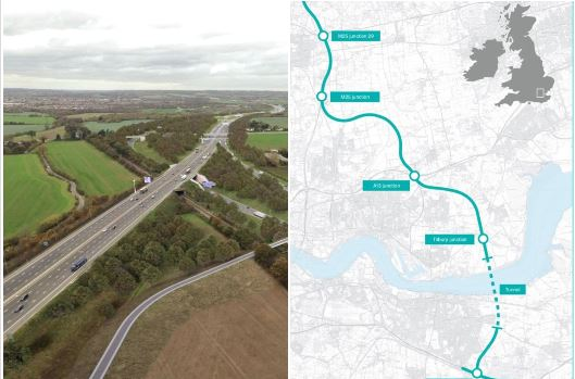 New designs for multi-million pound road tunnel beneath the Thames