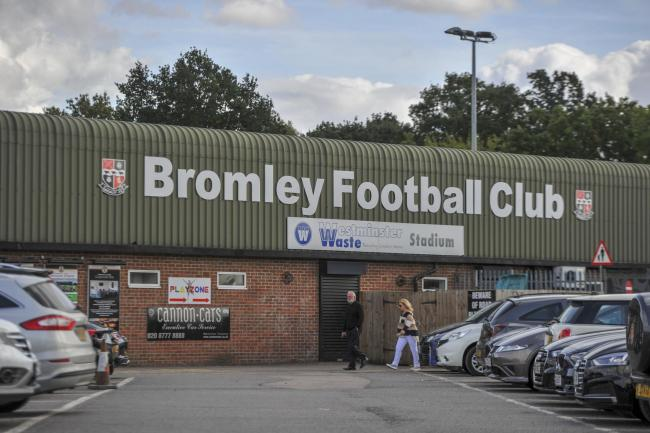Bromley romped to victory (pic:Tom West)
