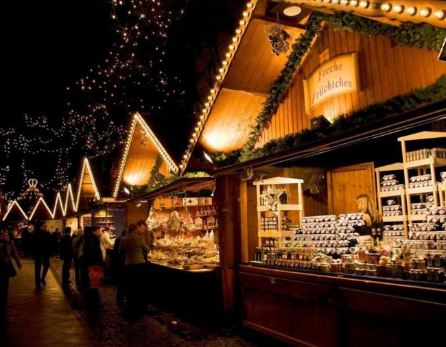 Get paid £50 an hour to visit Christmas Markets