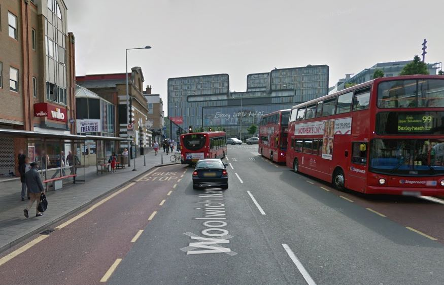 Reports of a person being hit by a bus on Woolwich New Road