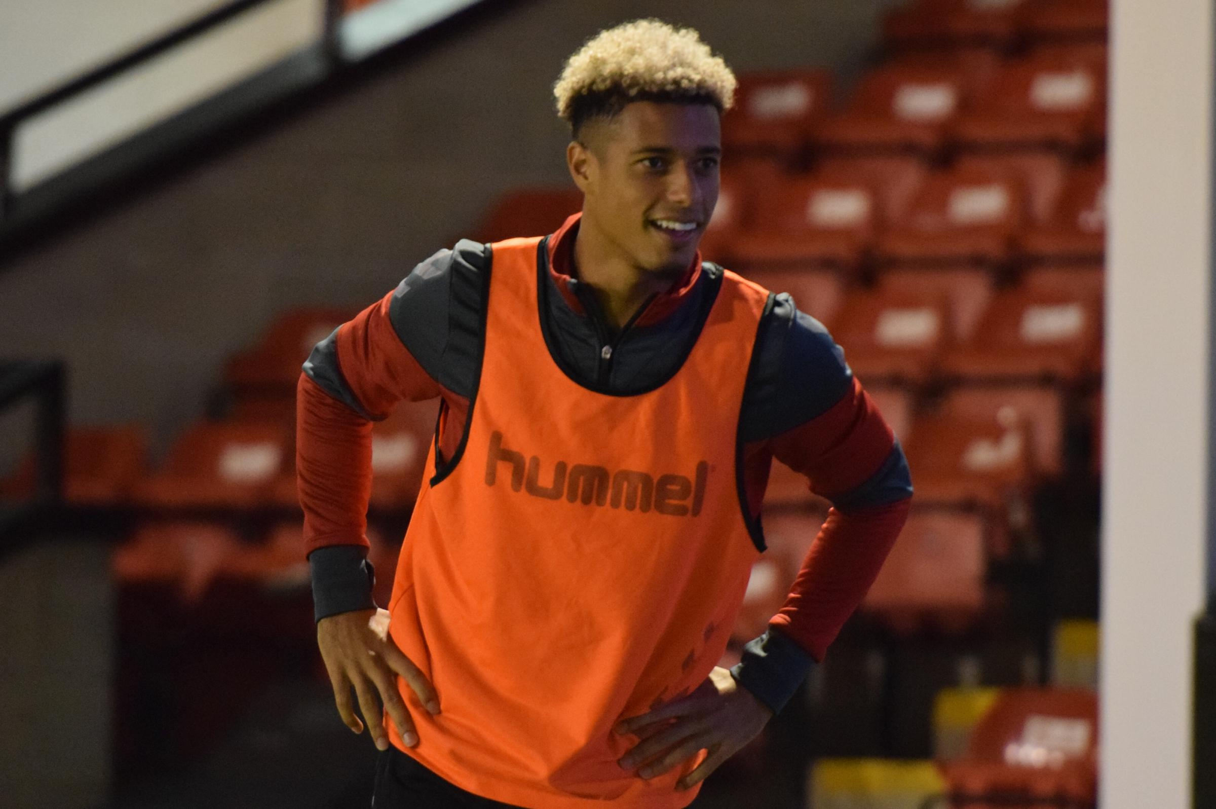 Lyle Taylor wasn't expected to start against Walsall (pic:Kyle Andrews)