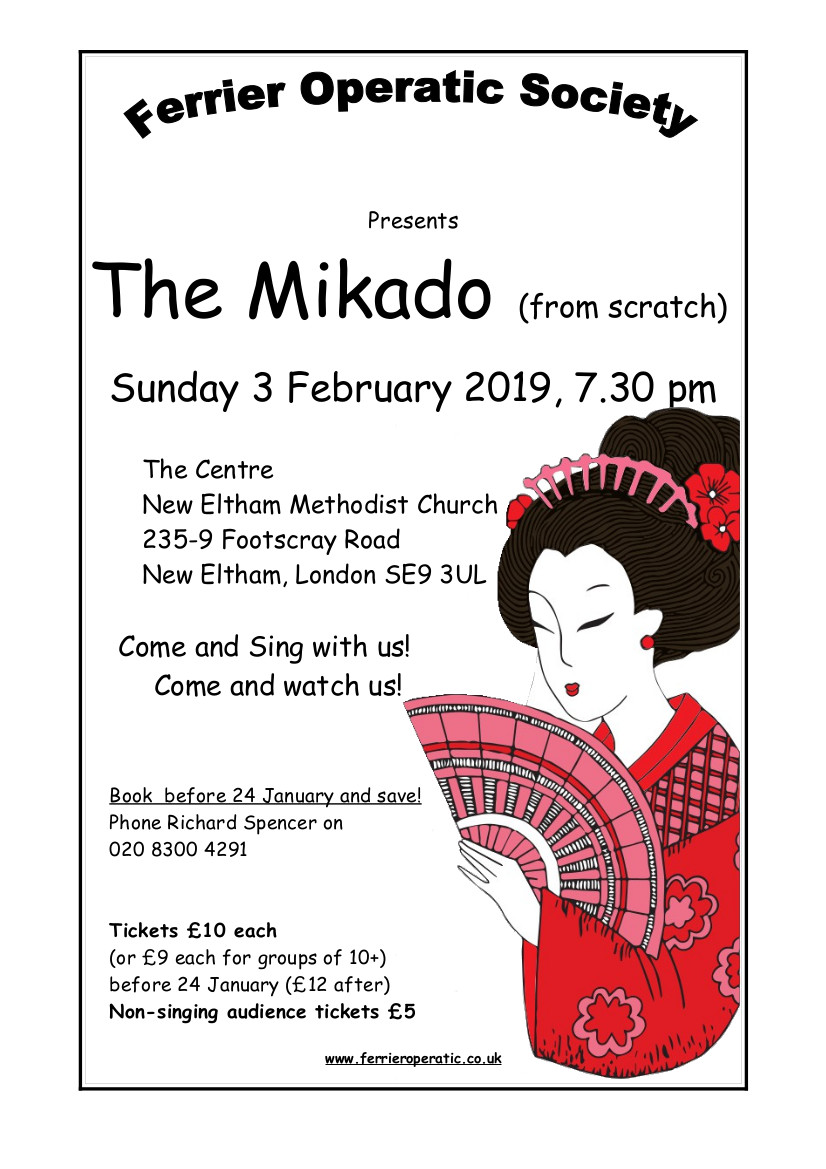 Come and Sing The Mikado