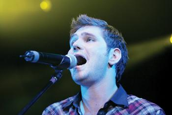 News Shopper: Scouting For Girls perform at Radio 1's Big Weekend last year in Maidstone, Kent