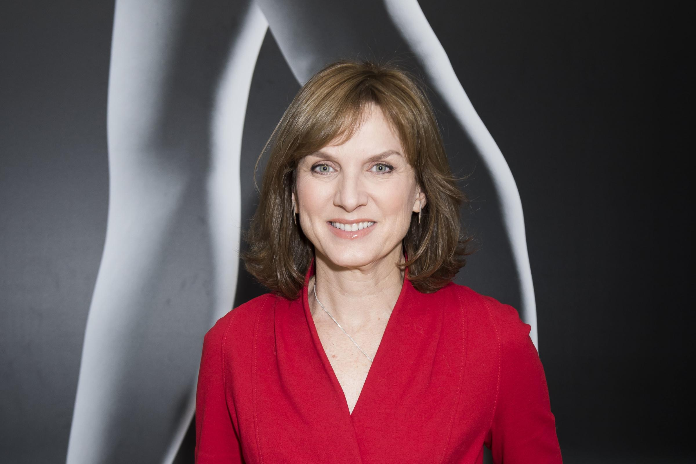 BBC newsreader and Antiques Roadshow presenter Fiona Bruce