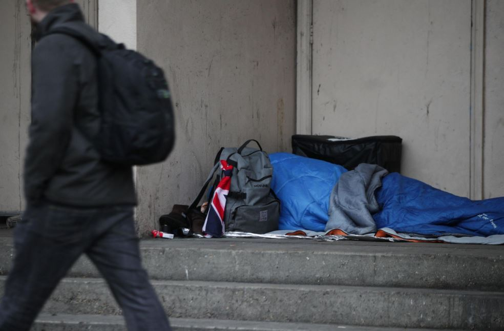 Here is what you can do if you see someone sleeping rough