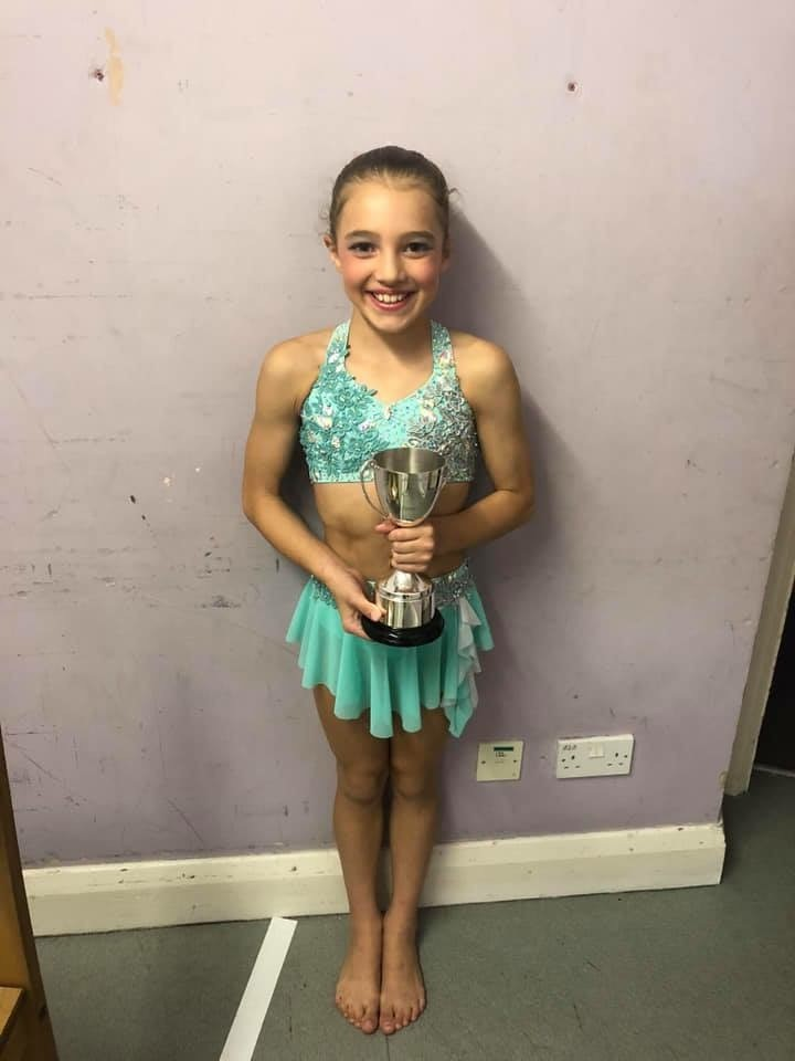 Deaf and only 10 but inspiring girl from Chislehurst wins place on British gymnastic squad