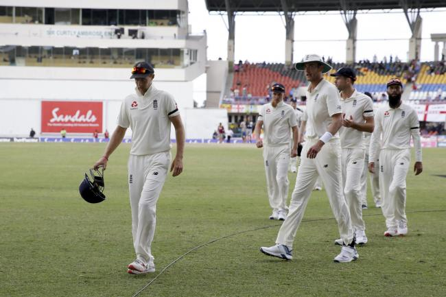 England have been humiliated in the first two Tests against the West Indies (Ricardo Mazalan/AP).