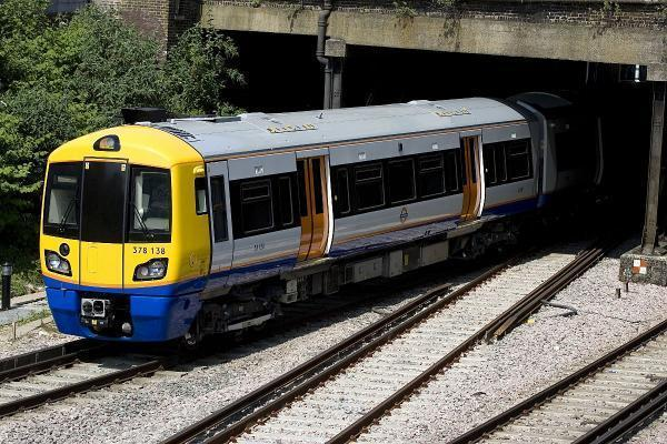 A London Overground train