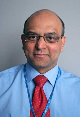 Consultant urologist Seshadri Sriprasad who performs the cryotherapy treatment.
