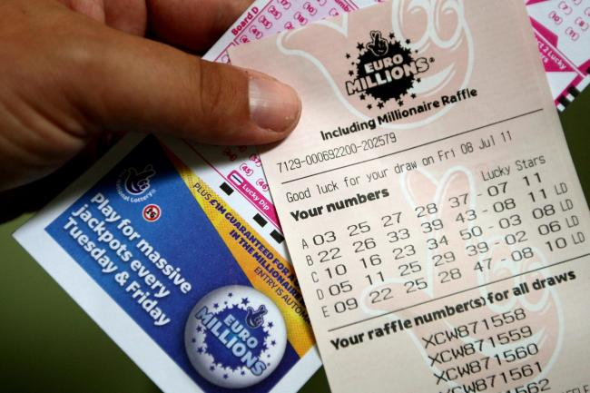 The EuroMillions jackpot stands at £180million tonight