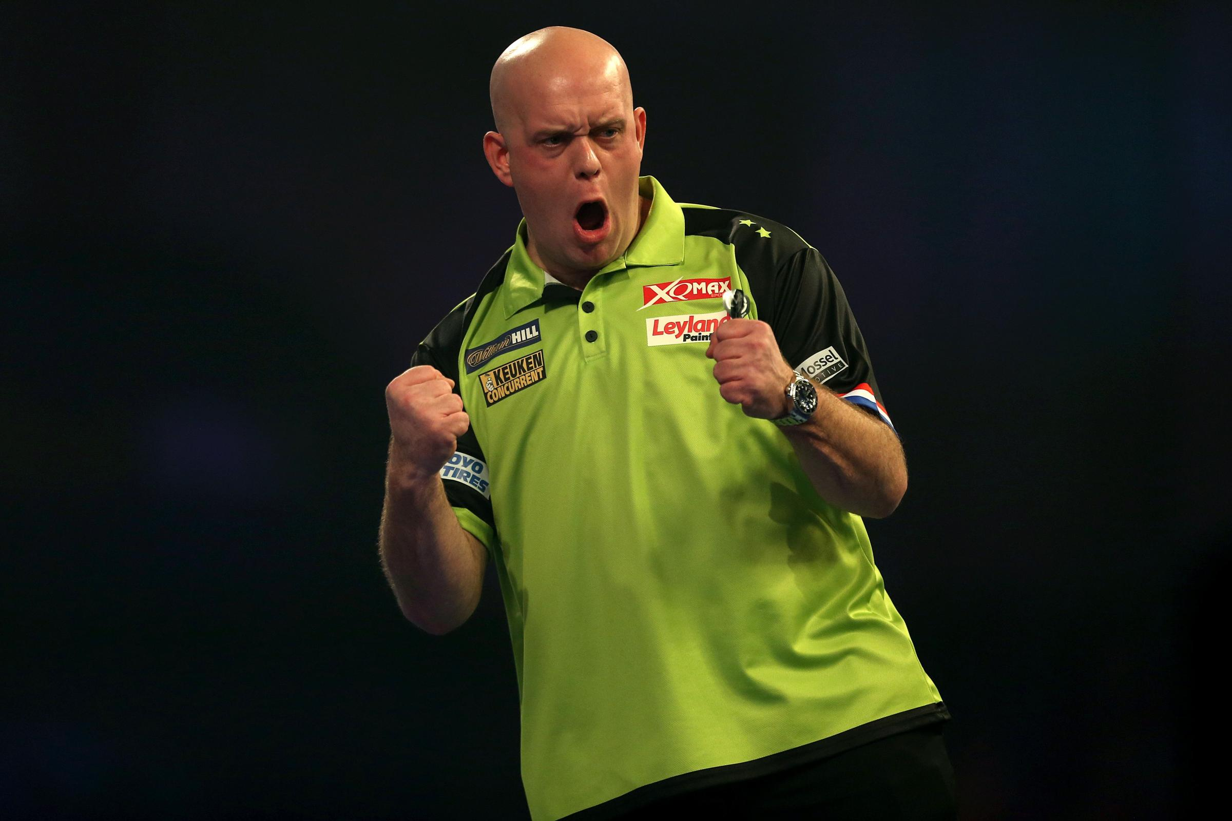 Michael Van Gerwen is top of the table