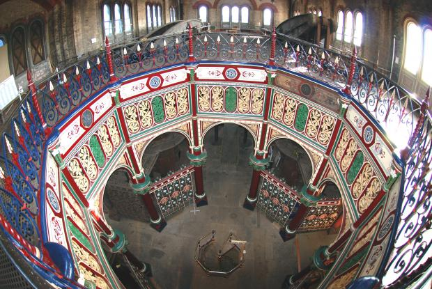 News Shopper: THe magnificent interior of the Crossness beam engine house