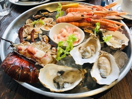 Fresh Seafood at London's Oldest Fish Restaurant