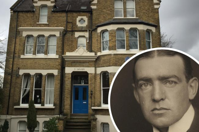 One of Sydenham's finest, Ernest Shackleton, and his house as it is today
