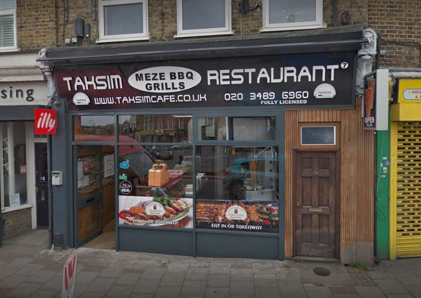 Taksim Bistro in Blackheath Hill has applied for extended licensing hours
