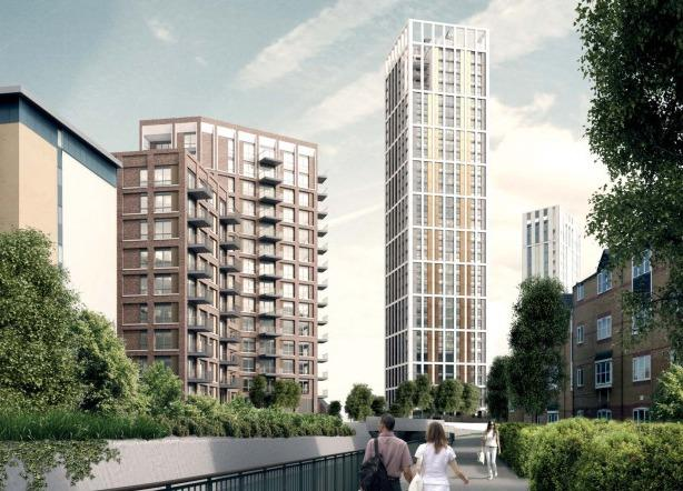 If approved by the Secretary of State, the Conington Road development will include a 34 storey tower