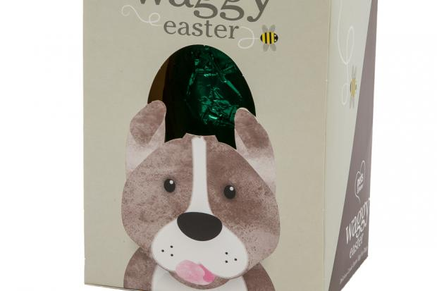 Pets at Home is selling a 'Waggy Easter' egg made using carob for dogs this Easter