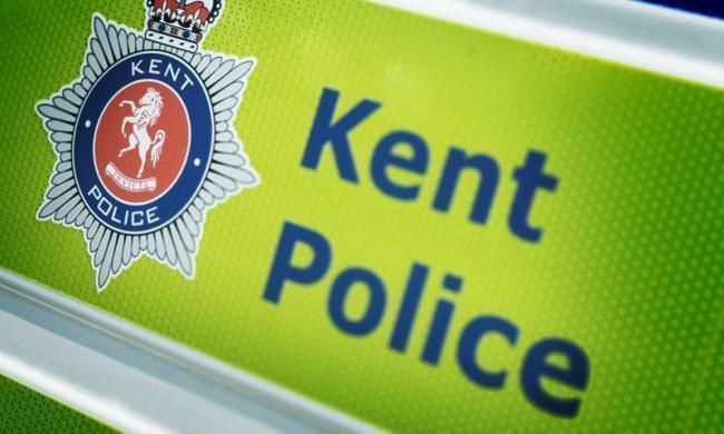Kent Police are on scene