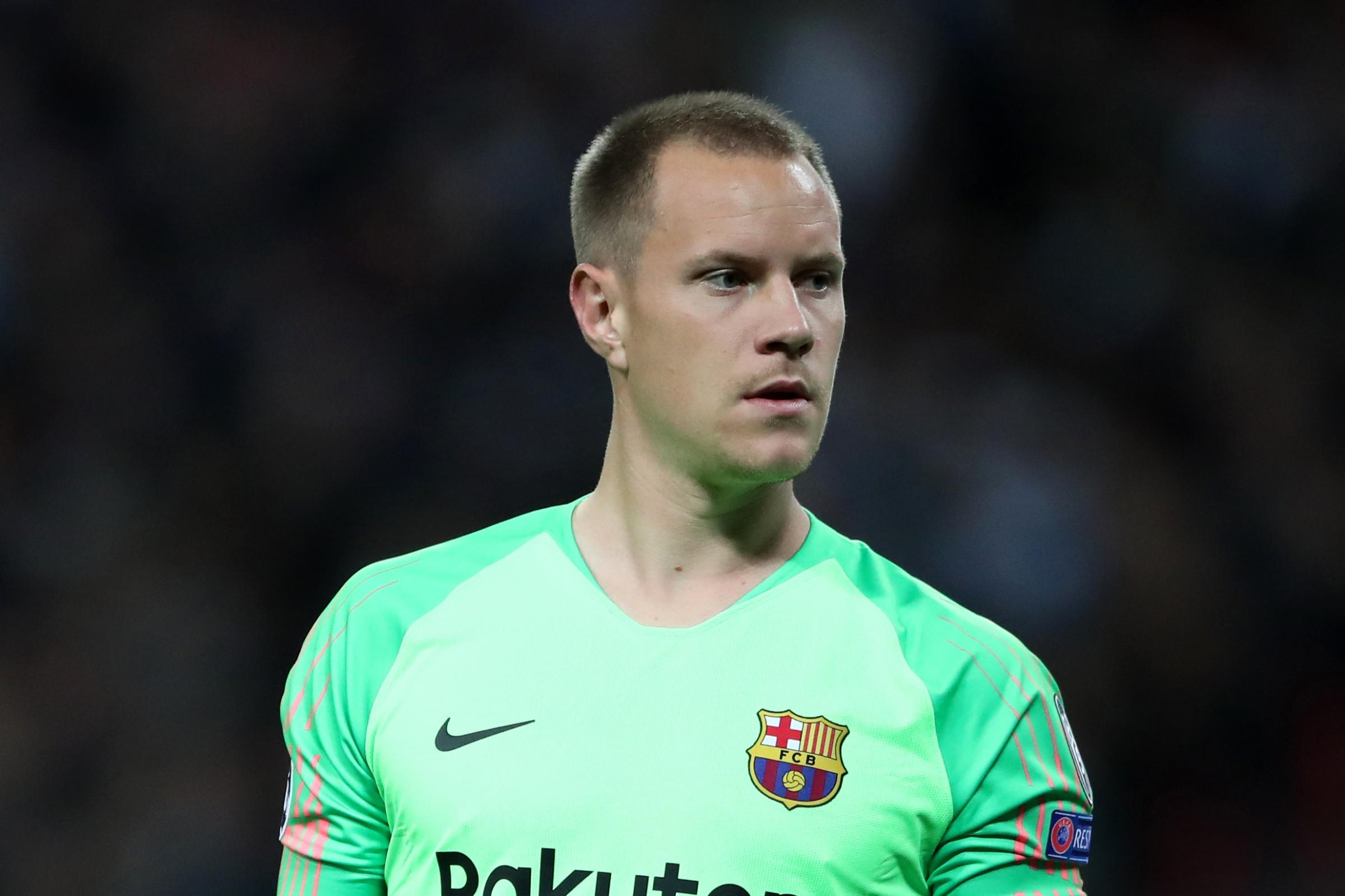 Barcelona goalkeeper Marc-Andre ter Stegen does not believe his side can try to defend their lead