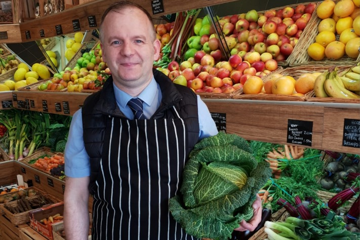 Richard Douglas to open new green grocery in Bromley