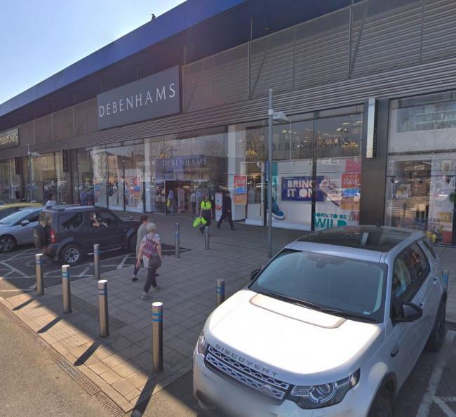 dfc33e9a4bb2f Orpington branch of Debenhams to close after store falls into ...