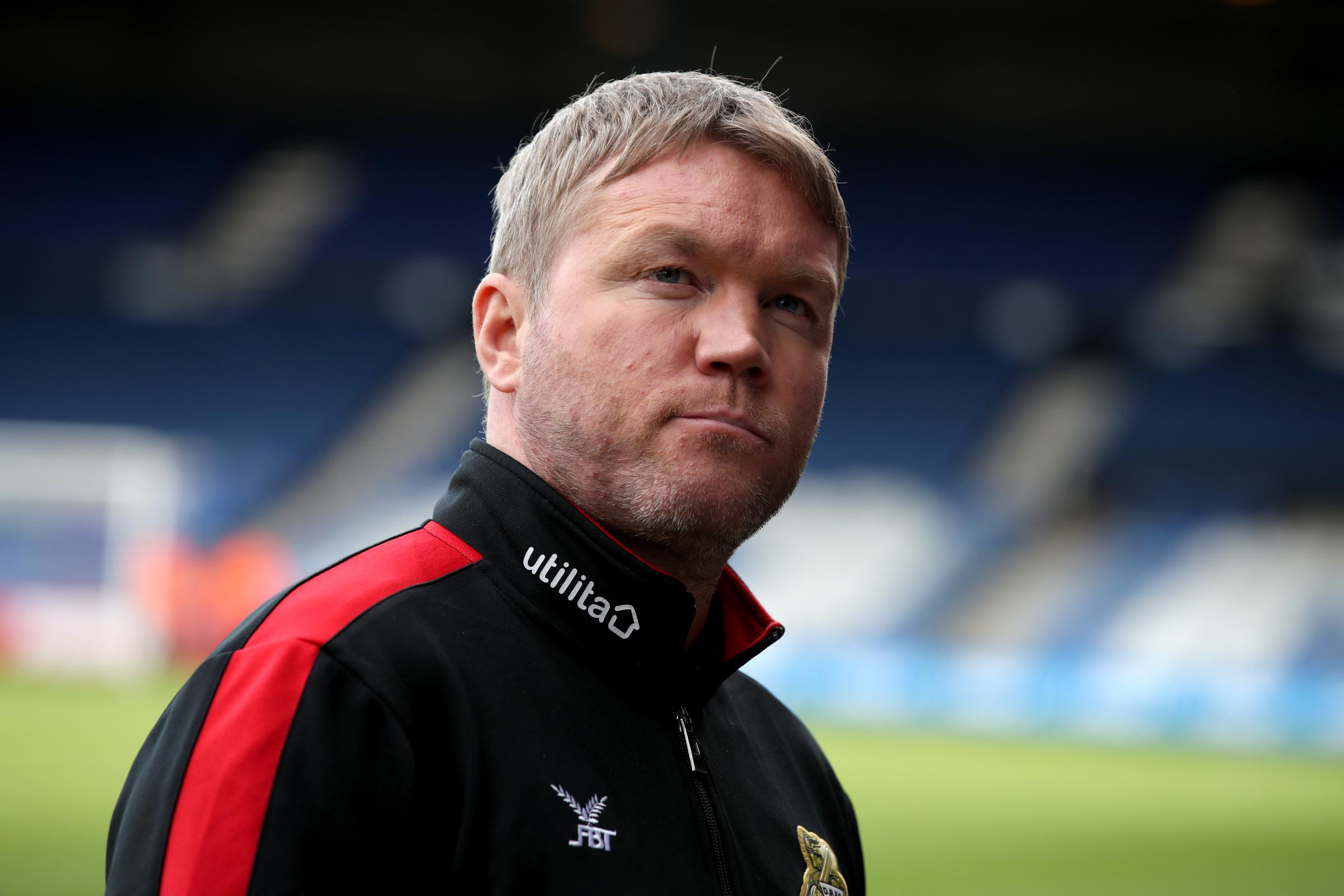 Doncaster Rovers boss Grant McCann. Photo: PA