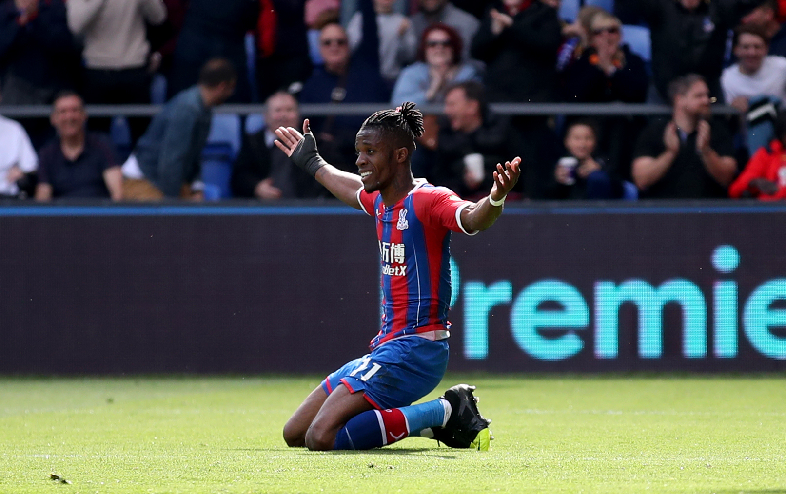 Crystal Palace's Wilfried Zaha