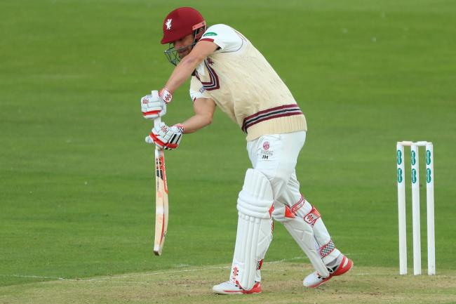 James Hildreth top-scored for Somerset