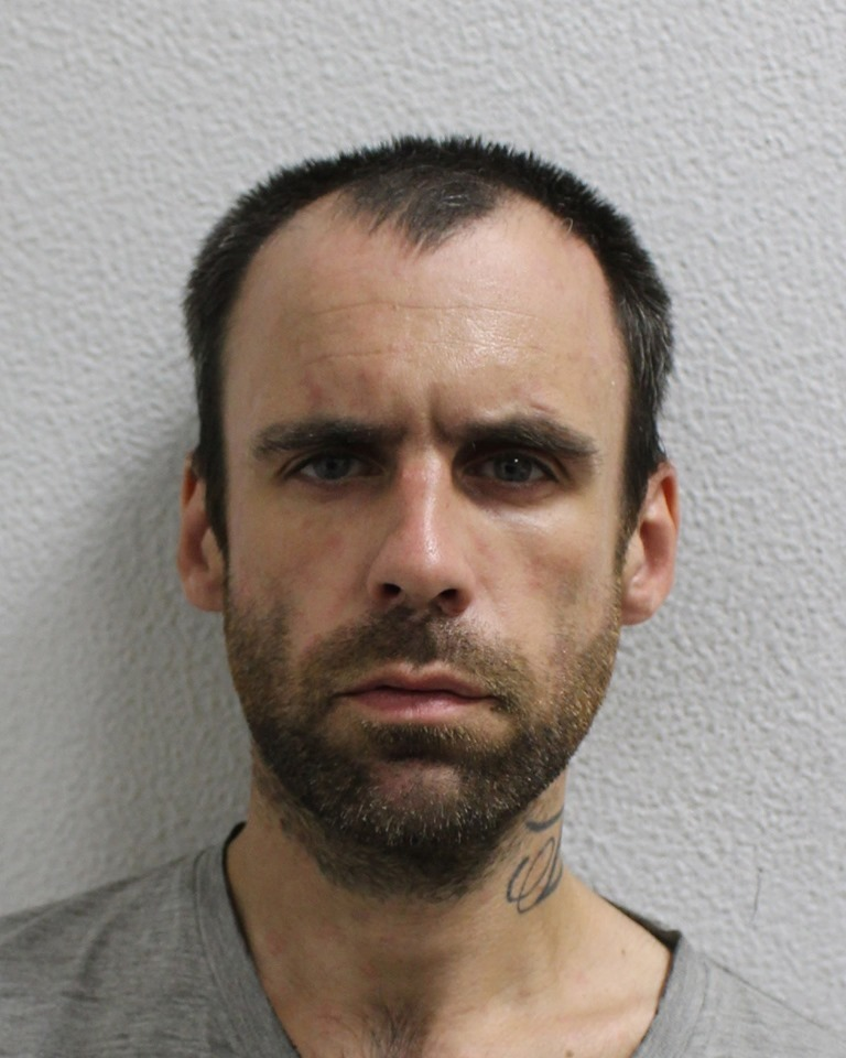 Christopher Fawcett, 37 of No Fixed Above pleaded guilty at Bromley Magistrates Court this morning