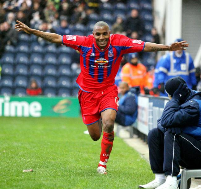Crystal Palace's Clinton Morrison
