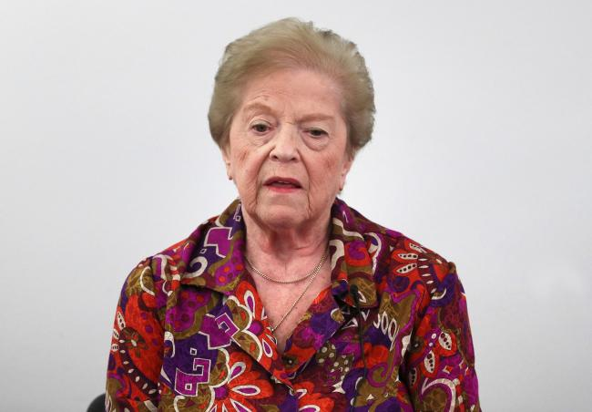 Holocaust survivor Ruzena Levy
