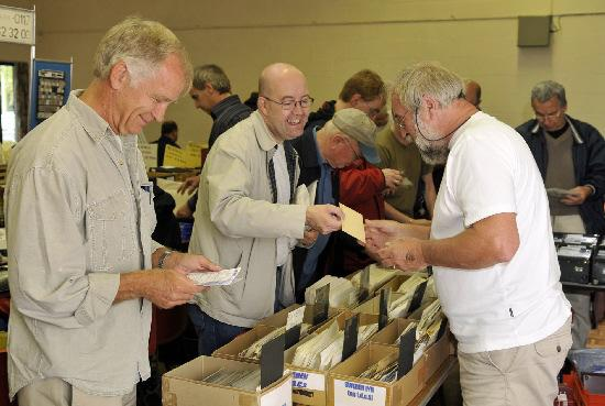 News Shopper: Collectors at the stamp fair